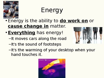 Energy Notes PowerPoint