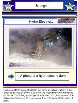 Energy Science Education PDF File - 65 Pages - Types of Energy