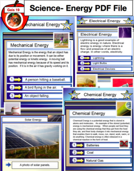 Energy PDF File - 65 Pages - Types of Energy