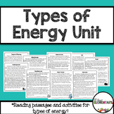 Energy Pack {Types of Energy That Create Electricity}