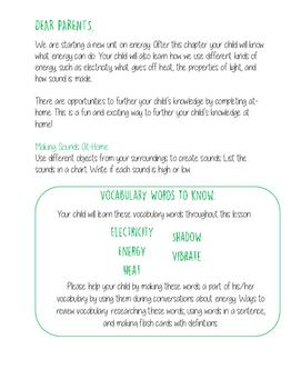 Energy Parent Letter