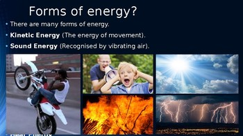 Energy (Physics) - Grades 7-9