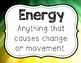 Energy Posters Freebie