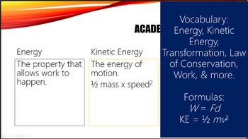 Energy PowerPoint Grades 6-8