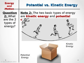 Energy PowerPoint - Two Column Notes