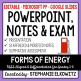 Forms of Energy PowerPoint, Notes & Exam - Google Slides