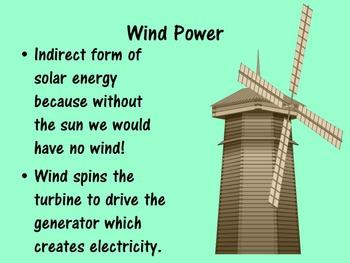 Energy Powerpoint - Renewable and Nonrenewable Energy Sources
