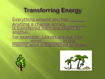 Energy Powerpoint Notes Part 1 of 3