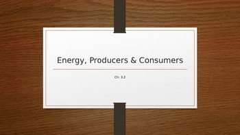 Energy Producers & Consumers