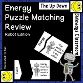 Energy Puzzle Matching Review Game-Robot Edition