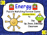Energy Puzzle Matching Review Game - Deluxe Christmas Edition