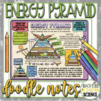Energy Pyramid Doodle Notes