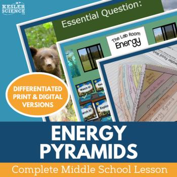 Energy Pyramids Complete 5E Lesson Plan