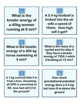Energy Race Game