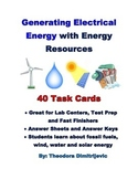 Energy Resources: 40 Task Cards