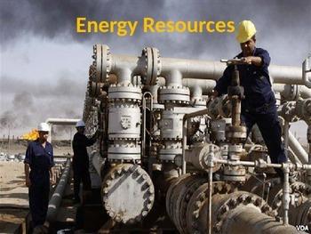 Energy Resources - Basics