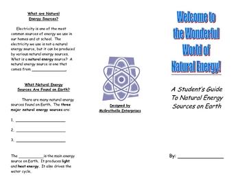 Energy Resources Brochure