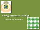 Energy Resources & Conservation - PowerPoint