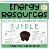 Energy Resources: Nonrenewable Resource BUNDLE