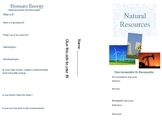 Energy Resources Project Brochure