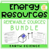 Energy Resources: Renewable Resources BUNDLE