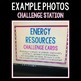 Energy Resources - S.C.I.E.N.C.E. Stations