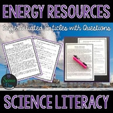 Energy Resources - Science Literacy Article