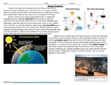 Energy Resources Worksheet