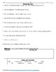 Energy Resources Worksheet