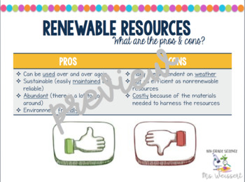 Energy Resources and Conservation Guided Notes
