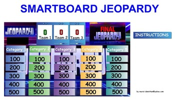 Energy Unit Review Jeopardy Game, Middle School Science, 6