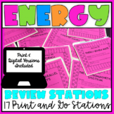 Energy Review Student Led Stations