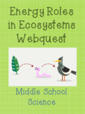 Energy Roles in Ecosystems Webquest