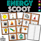 Energy SCOOT or Write the Room - Labeling Light, Sound and Heat