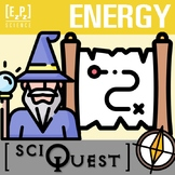 Energy SciQuest Science Scavenger Hunt- Print and Digital
