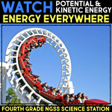WATCH Videos about Potential and Kinetic Energy Science Station