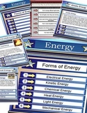 Energy  ( Science Education Types of Energy) Smartboard File 45 Pages