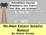 Energy Sources Unit