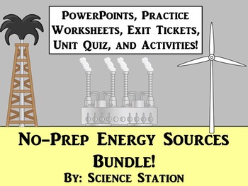Energy Sources Unit