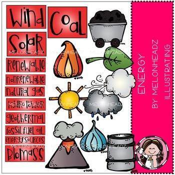 Melonheadz: Energy Sources clip art