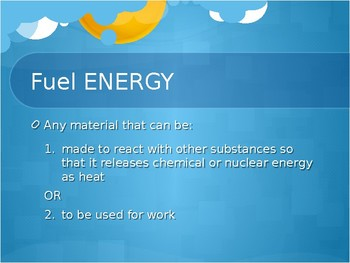 Energy Sources: Renewable and Nonrenewable