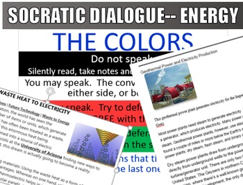 Energy Sources Socratic Dialogue