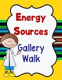 Gallery Walk- Energy Sources Vocabulary