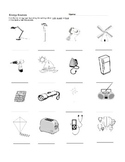 Energy Sources Worksheet
