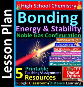 Energy, Octet Rule, Stability in Chemical Bonding: Essential Skills WKShet #13