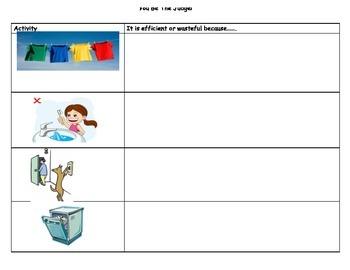 Energy Summative and Rubric Grade 1