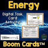 Energy Task Cards - Digital Boom Cards™