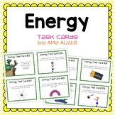 Energy Task Cards Potential Kinetic Transformations