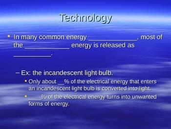Energy Technology Cloze