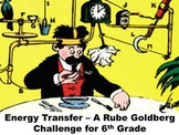 Energy Transfer - A Rube Goldberg Challenge for Sixth Grade